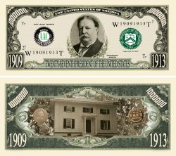WILLIAM TAFT MILLION DOLLAR BILL