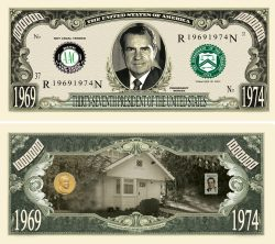 RICHARD NIXON MILLION DOLLAR BILL