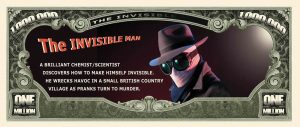 Invisible Man Million Dollar Bill