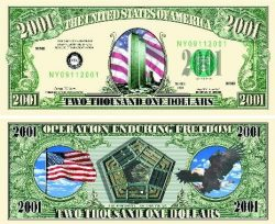 U.S 2001 Twin Towers Bill
