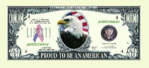 Proud American Eagle