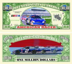 American Racer Stock Car Million Dollar Bill