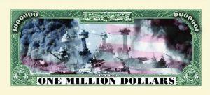 Pearl Harbor One Million Dollar Bill