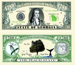 Georgia State Novelty Bill