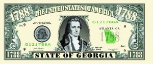 Georgia State Novelty Bill