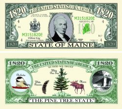Maine State Novelty Bill