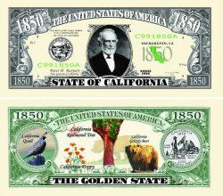 California State Novelty Bill