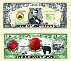 West Virginia State Novelty Bill
