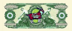 Capricorn Zodiac One Million Dollar Bill
