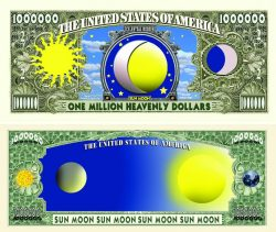 Sun/Moon One Million Dollar Bill