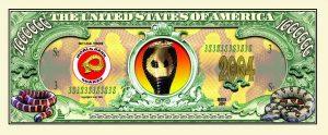 Snake One Million Dollar Bill