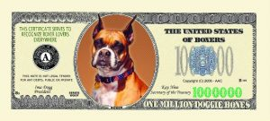 Boxer One Million Dollar Bill
