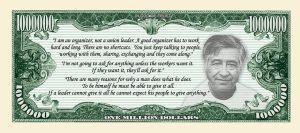 Cesar Chavez Million Dollar Bill