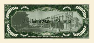 John Dillinger $100,000.00 Bill