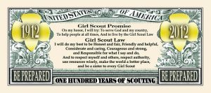 Girl Scouts 100th Anniversary Bill