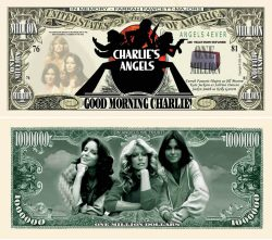 CHARLIE'S ANGELS MILLION DOLLAR BILL