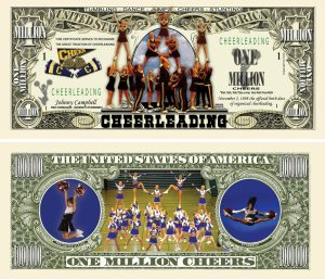 CHEERLEADING MILLION DOLLAR BILL