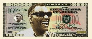 RAY CHARLES MILLION DOLLAR BILL