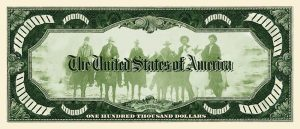 Billy The Kid $100000.00 Bill
