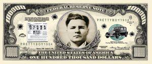 Pretty Boy Floyd $100,000.00 Bill
