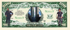9/11 10th Anniversary WTC Memorial Commemorative Bill