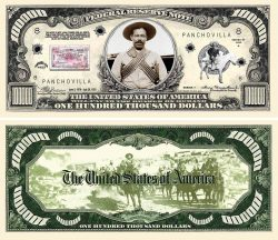 PANCHO VILLA COLLECTIBLE BILL