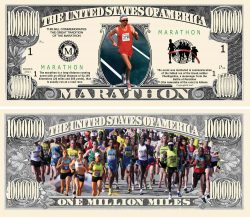 MARATHON MILLION DOLLAR BILL