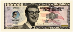 Buddy Holly Million Dollar Bill