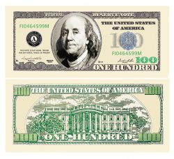 100.00 Franklin Bill