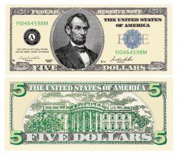 5.00 Bill