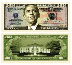 Obama 2014 Bill