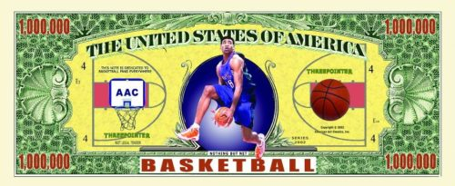 sports themed fake money