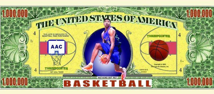 sports themed fake money