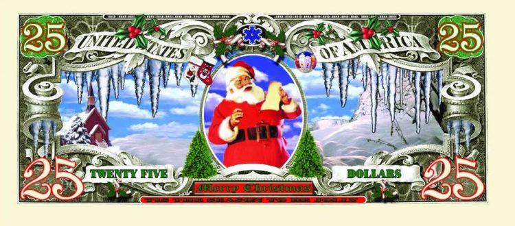 holiday fake money