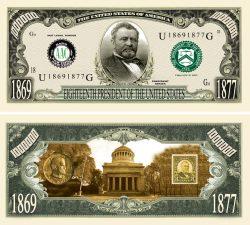 Ulysses G. Grant Million Dollar Bill