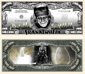 Frankenstein Million Dollar Bill