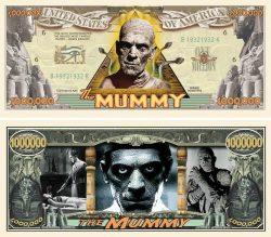 Mummy Million Dollar Bill