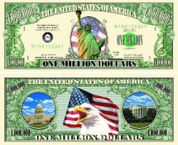 Liberty One Million Dollar Bill