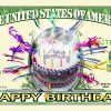 Happy Birthday One Million Dollar Bill