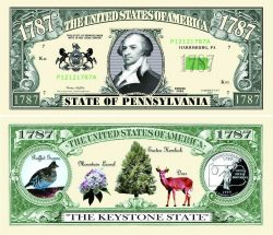 Pennsylvania State Novelty Bill