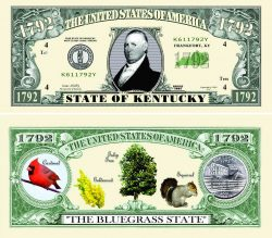 Kentucky State Novelty Bill
