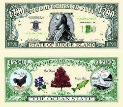 Rhode Island State Novelty Bill