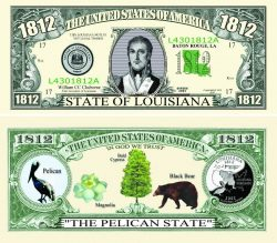 Louisiana State Novelty Bill