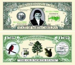 North Carolina State Novelty Bill