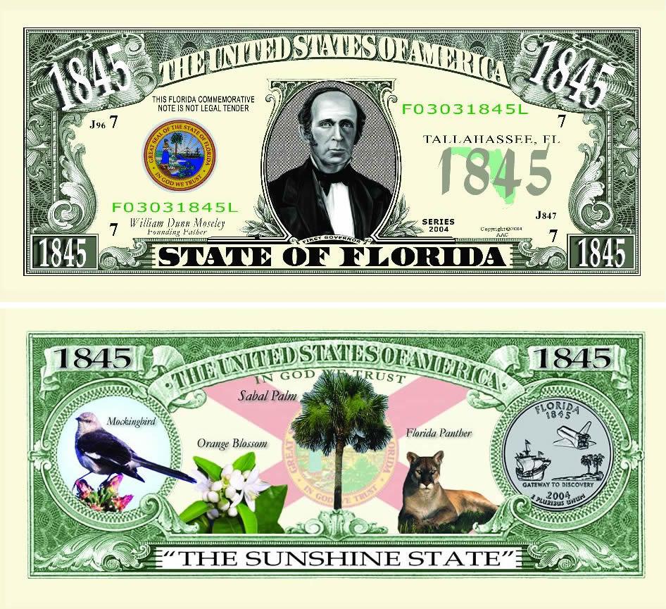 Florida State Novelty Bill