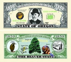 Oregon State Novelty Bill