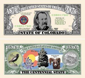Colorado State Novelty Bill