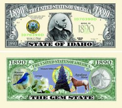 Idaho State Novelty Bill