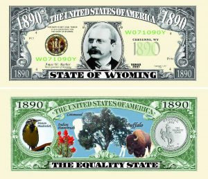 Wyoming State Novelty Bill