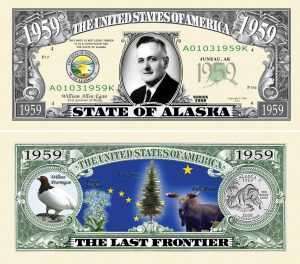 Alaska State Novelty Bill